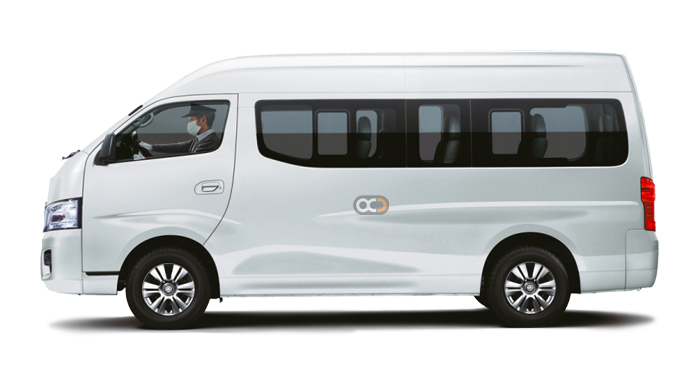 Booking Toyota Hiace chauffeur service