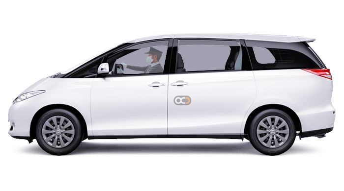 Booking Toyota Previa chauffeur service