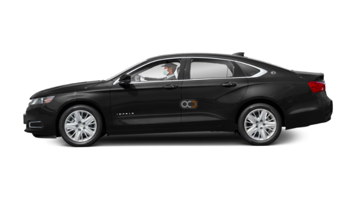 Booking Chevrolet Impala chauffeur service