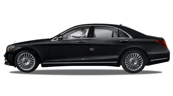 Booking Mercedes S Class chauffeur service