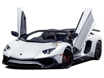 Hire Lamborghini Aventador Roadster - Rent Lamborghini Dubai - Sports Car Car Rental Dubai Price