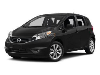 Black Nissan Tiida Dubai