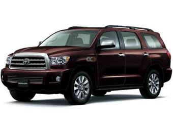 Hire Toyota Sequoia - Rent Toyota Muscat - SUV Car Rental Muscat Price