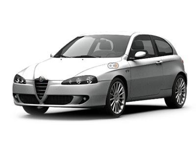Hire Alfa Romeo 147  - Rent Alfa Romeo Belgrade - Compact Car Rental Belgrade Price