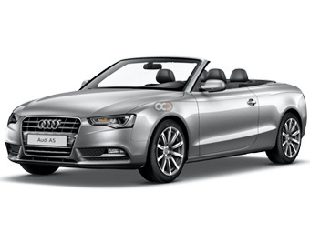 Rent a car Dubai Audi A5 Convertible