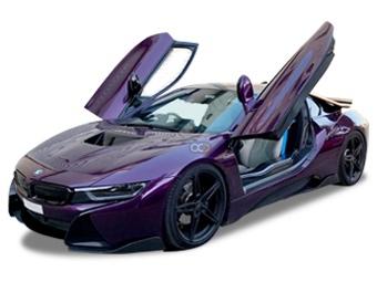 Hire BMW i8 - Rent BMW Munich - Electric Car Rental Munich Price