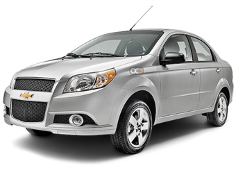 Hire Chevrolet Aveo Sedan - Rent Chevrolet Dubai - Sedan Car Rental Dubai Price