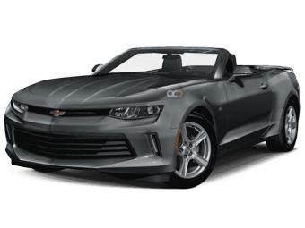Hire Chevrolet Camaro Convertible V6 - Rent Chevrolet Dubai - Sports Car Car Rental Dubai Price