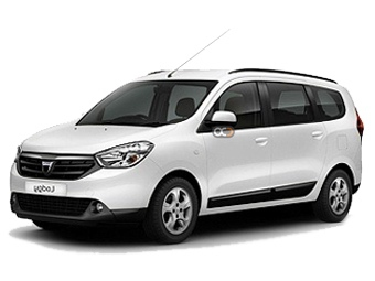 Dacia Lodgy Price in Antalya - Van Hire Antalya - Dacia Rentals