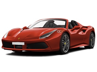 Hire Ferrari 488 Spider - Rent Ferrari Sharjah - Sports Car Car Rental Sharjah Price