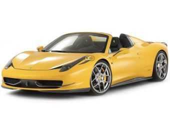 Rent a car Dubai Ferrari  458 Spider