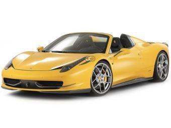 Ferrari 458 Spider Price in Barcelona - Convertible Hire Barcelona - Ferrari Rentals