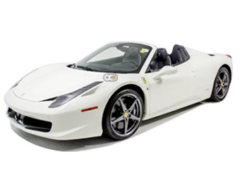 Ferrari 458 Spider Price in Dubai - Sports Car Hire Dubai - Ferrari Rentals