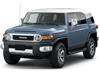 Hire Toyota FJ Cruiser - Rent Toyota Dubai - SUV Car Rental Dubai Price
