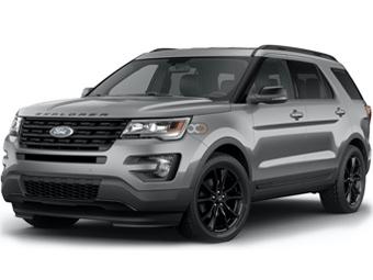 Hire Ford Explorer - Rent Ford Sharjah - SUV Car Rental Sharjah Price