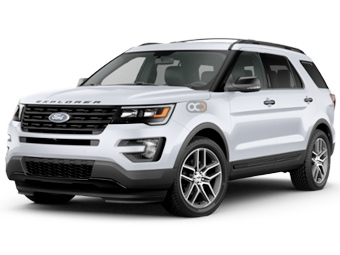 Ford Explorer Price in Sharjah - SUV Hire Sharjah - Ford Rentals
