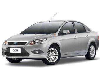 Hire Ford Focus Sedan - Rent Ford Dubai - Sedan Car Rental Dubai Price