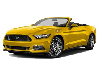 Hire Ford Mustang V8 GT Convertible - Rent Ford Dubai - Sports Car Car Rental Dubai Price