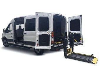 Hire Hyundai H1 with Hydraulic Lift - Rent Hyundai Dubai - Special Needs Car Rental Dubai Price