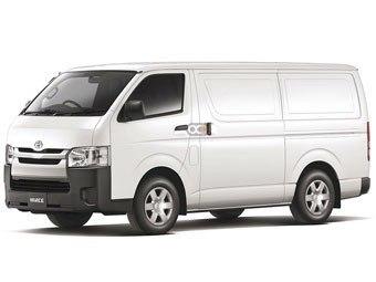 Toyota Hiace Refrigerated Price in Dubai - Van Hire Dubai - Toyota Rentals