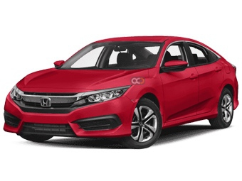 Hire Honda Civic - Rent Honda Dubai - Sedan Car Rental Dubai Price
