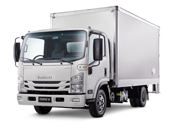 Isuzu NPR85 4.2 Ton Cargo Box Price in Dubai - Commercial Hire Dubai - Isuzu Rentals