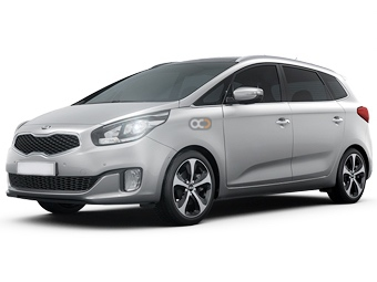 Kia Carens Price in Dubai - Van Hire Dubai - Kia Rentals