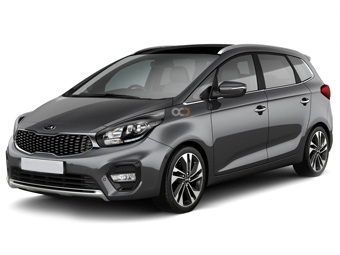Kia Carens Price in Ajman - Van Hire Ajman - Kia Rentals