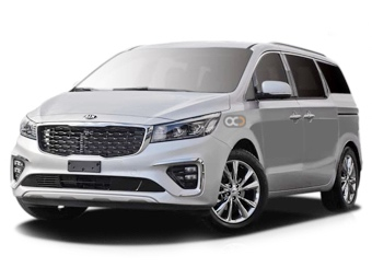 Hire Kia Carnival - Rent Kia Abu Dhabi - Van Car Rental Abu Dhabi Price
