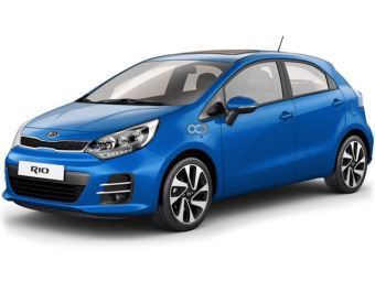 Rent a car Dubai Kia Rio