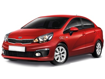 Hire Kia Rio Sedan - Rent Kia Dubai - Sedan Car Rental Dubai Price