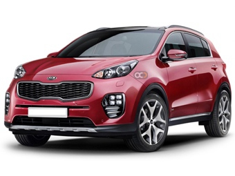 Hire Kia Sportage - Rent Kia Abu Dhabi - Cross Over Car Rental Abu Dhabi Price