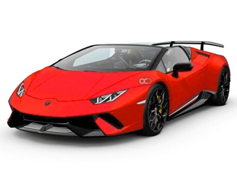 Hire Lamborghini Huracan Spyder - Rent Lamborghini Dubai - Sports Car Car Rental Dubai Price