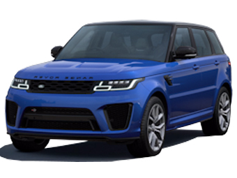 Hire Land Rover Range Rover Sport SVR - Rent Land Rover Dubai - SUV Car Rental Dubai Price