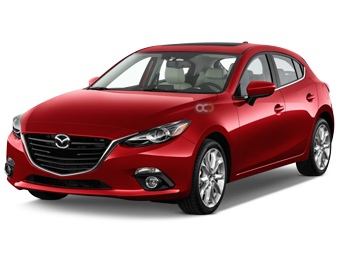 Hire Mazda 3 Hatchback - Rent Mazda Dubai - Sedan Car Rental Dubai Price