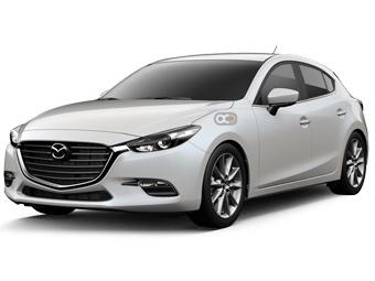 Hire Mazda 3 - Rent Mazda Dubai - Sedan Car Rental Dubai Price