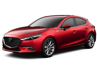 Hire Mazda 3 - Rent Mazda Dubai - Sedan Car Rental Dubai Price