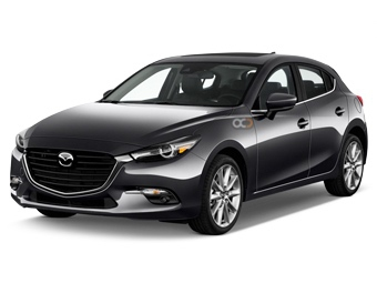 Mazda 3 Hatchback Price in Dubai - Sedan Hire Dubai - Mazda Rentals