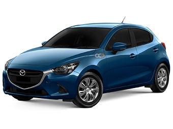 Hire Mazda 2 - Rent Mazda Dubai - Compact Car Rental Dubai Price