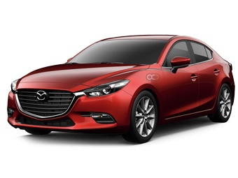 Hire Mazda 3 Sedan - Rent Mazda Dubai - Sedan Car Rental Dubai Price