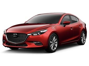 Hire Mazda 3 Sedan - Rent Mazda Dubai - Sedan Car Rental Dubai Price