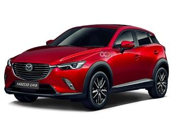 Hire Mazda CX3 - Rent Mazda Muscat - Crossover Car Rental Muscat Price