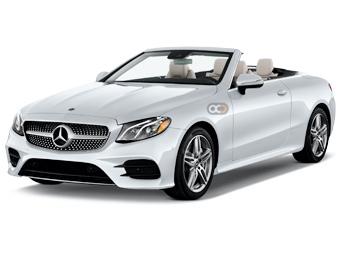 Hire Mercedes Benz E320 Convertible - Rent Mercedes Benz Dubai - Sports Car Car Rental Dubai Price
