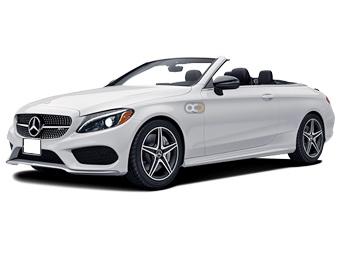 Hire Mercedes Benz C300 Convertible - Rent Mercedes Benz Dubai - Convertible Car Rental Dubai Price