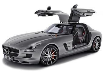 Rent a car Dubai Mercedes-Benz  SLS