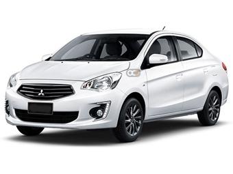 Hire Mitsubishi Attrage - Rent Mitsubishi Dubai - Sedan Car Rental Dubai Price
