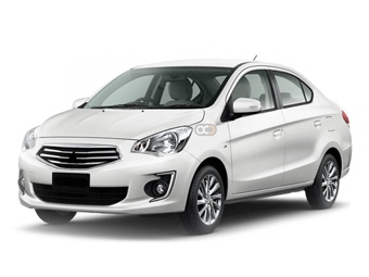 Hire Mitsubishi Attrage - Rent Mitsubishi Abu Dhabi - Sedan Car Rental Abu Dhabi Price