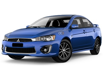 Mitsubishi Lancer Price in Sharjah - Sedan Hire Sharjah - Mitsubishi Rentals