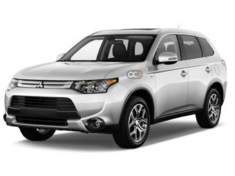 Hire Mitsubishi Outlander - Rent Mitsubishi Tbilisi - Crossover Car Rental Tbilisi Price