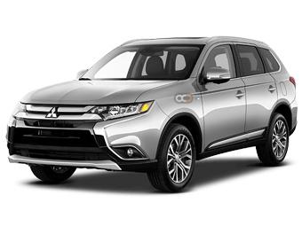 Mitsubishi Outlander Price in Tbilisi - Crossover Hire Tbilisi - Mitsubishi Rentals